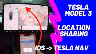 Tesla Model 3 | Quick Tip #2 | Location Sharing
