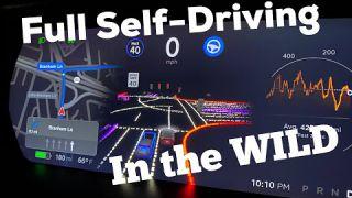 Tesla Full Self Driving Beta Test Drive