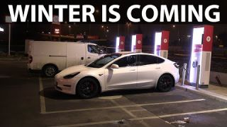 How to improve charging speed in Tesla during winter