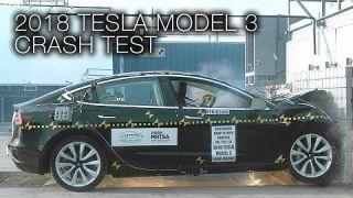 Tesla Model 3 (2018) Frontal Crash Test