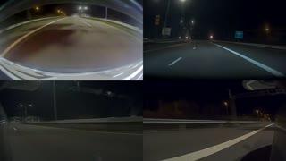 Demo av alle fire kamera